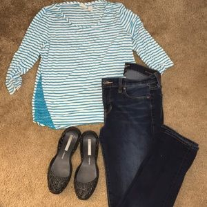 Chicos striped top